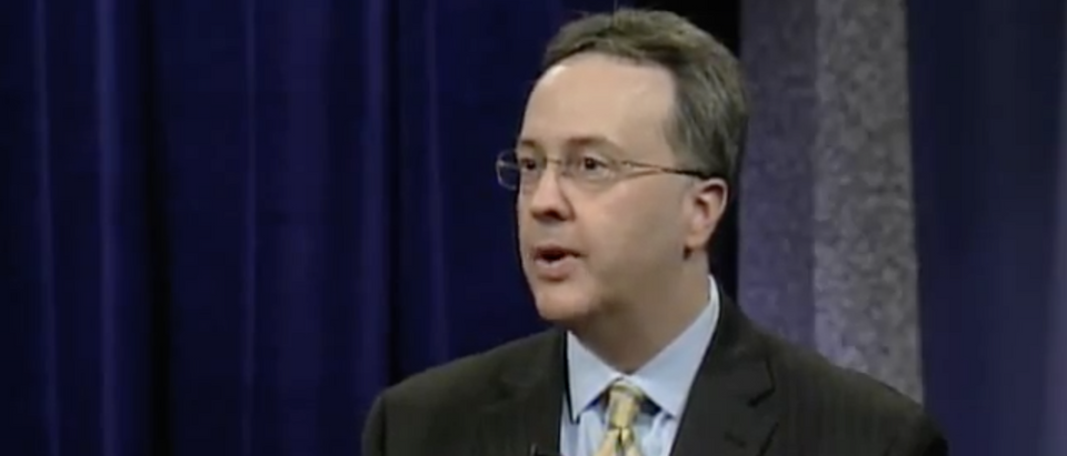 West Virginia Supreme Court Justice Allen Loughry is on public television in 2013. (YouTube screenshot/West Virginia Public Broadcasting)