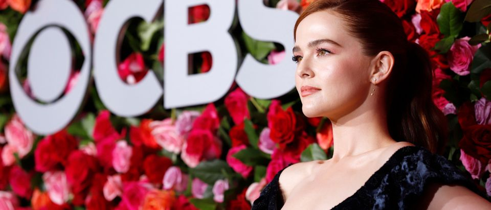Zoey Deutch, attends the 72nd Annual Tony Awards at Radio City Music Hall on June 10, 2018 in New York City. (Photo by Jemal Countess/Getty Images for Tony Awards Productions)