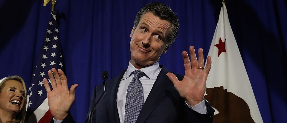 California Gubernatorial Candidate Gavin Newsom Holds Primary Night Event In San Francisco