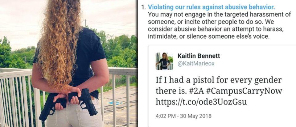 Kaitlin Bennett, courtesy of Liberty Hangout