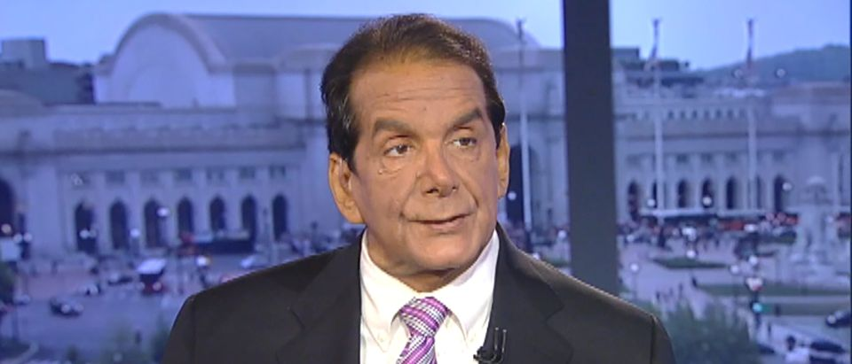 Charles Krauthammer appears on Fox News in Washington