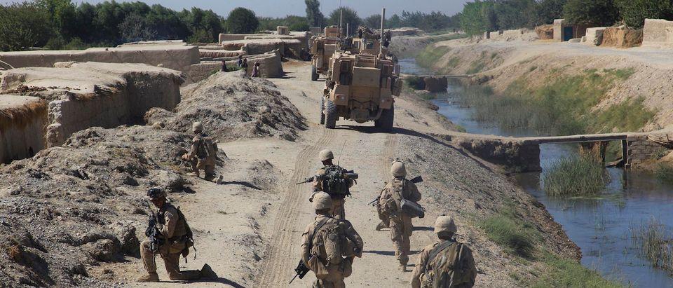 U.S. Marines with Bravo Company