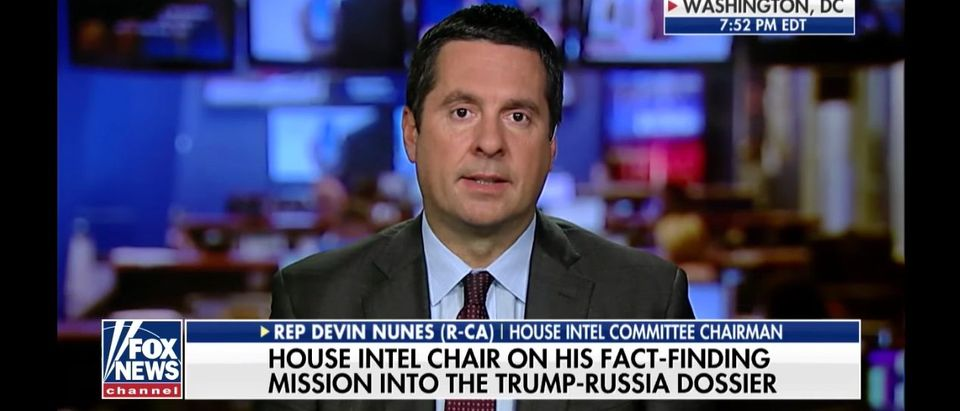 Devin Nunes - Fox News Channel Screen Shot