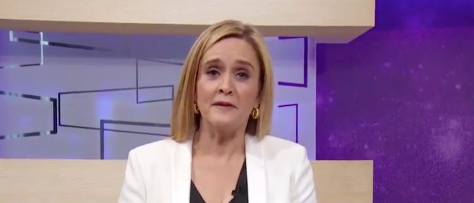 Samantha Bee delivered on-air apology for remarks insulting Ivanka Trump./Screenshot