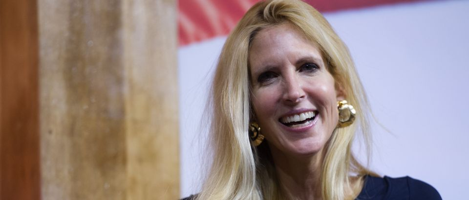 Ann Coulter at the National Harbor, Shutterstock/ By Christopher Halloran