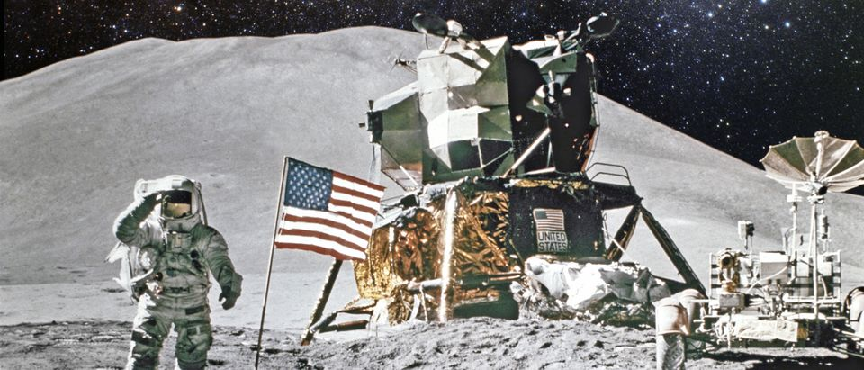 Moon landing, Shutterstock/
