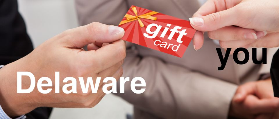 Gift cards Delaware, Shutterstock/ By Andrey_Popov