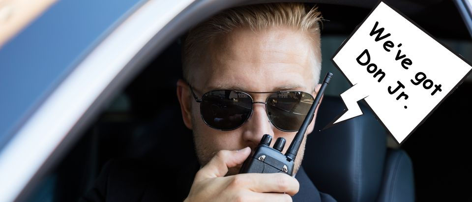 FBI Agent tracking Don Jr. Shutterstock/ By mejorana