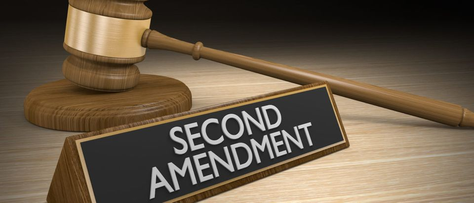 Second Amendment right to bear arms and the gun control legal challenge [Shutterstock/David Carillet]