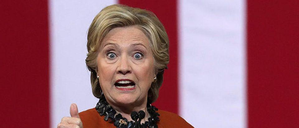 Hillary Clinton - Getty
