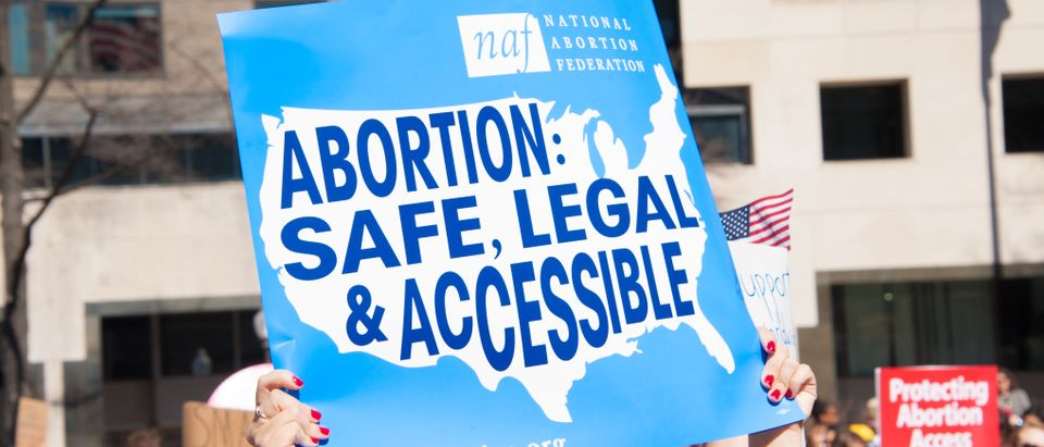 Abortion is safe sign