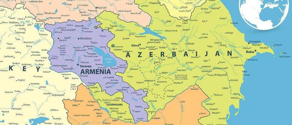 Armenia Azerbaijan Shutterstock Cartarium