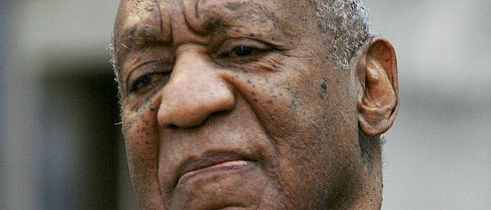 Bill Cosby leave the Montgomery County court house