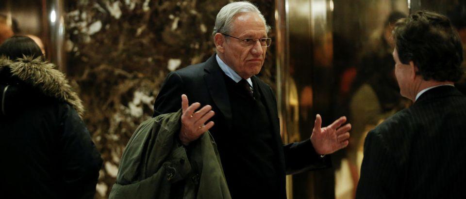 Journalist Bob Woodward arrives at Trump Tower in New York, U.S., January 3, 2017. REUTERS/Mike Segar