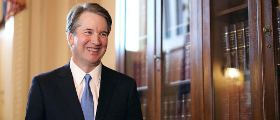 Sen. Grassley Meets With Supreme Court Justice Nominee Brett Kavanaugh