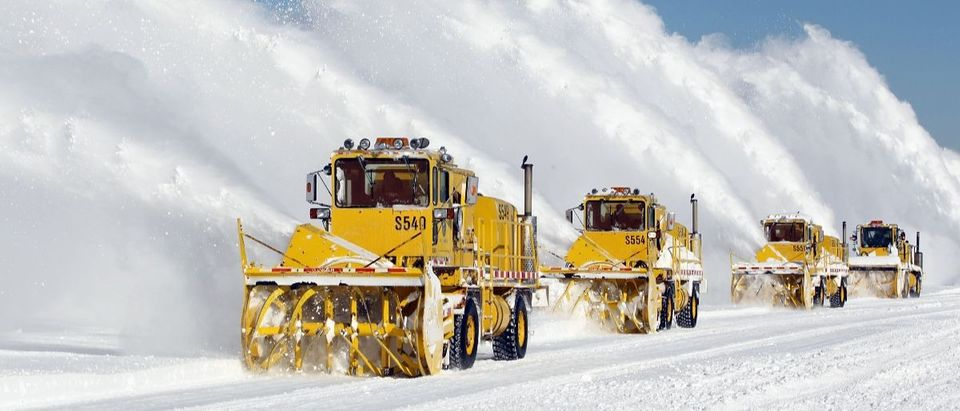 snow blizzard Getty Images Scott Olson