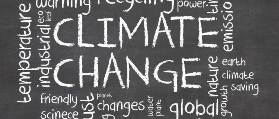 Pictured are terms associated with climate change. (Grasko/Shutterstock)
