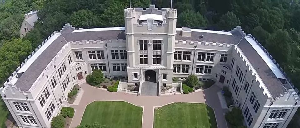 Here is an aerial view of The College of Wooster. (YouTube/tadwollop)