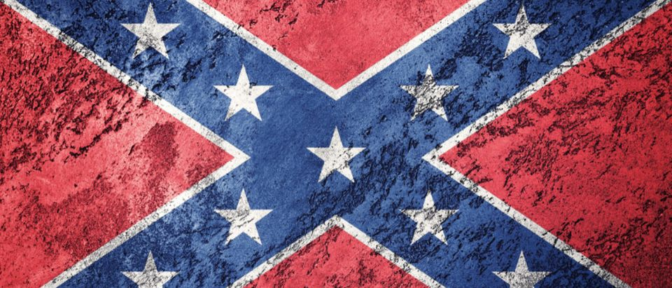 A super cool Confederate flag is displayed. (Shutterstock/Allexxandar)