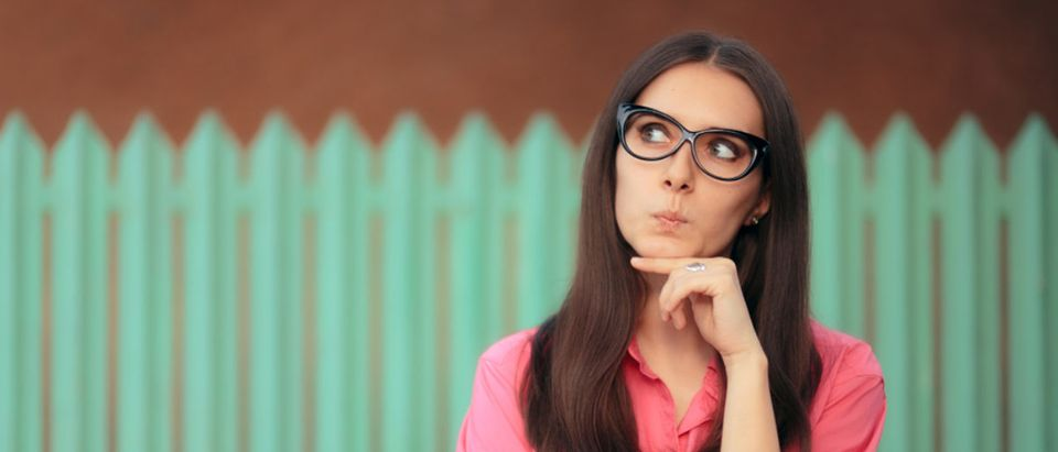 This woman is very confused. (Shutterstock/Nicoleta Ionescu)