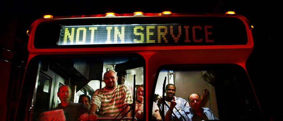 DC Bus Drivers Show Up Late To Work