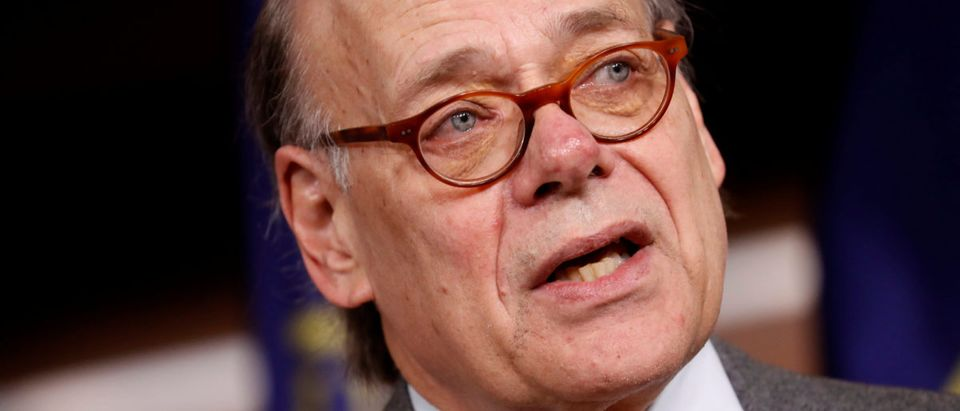 Rep. Steve Cohen (D-TN) speaks at a press conference announcing articles of impeachment being filed against President Donald Trump on Capitol Hill in Washington