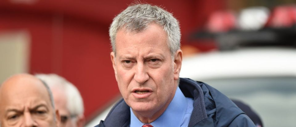 Emergency response personnel staged an active shooter exercise in Manhattan's Lower East Side. Mayor Bill de Blasio -- ShutterStock A Katz