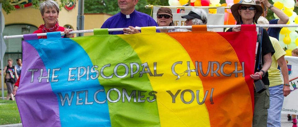 The Episcopal Church Approves Gay Marriage (Shutterstock/ txking)