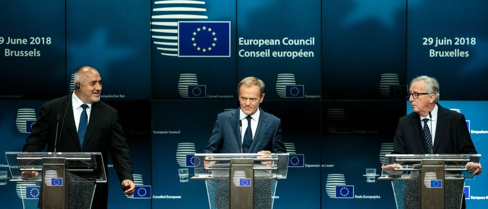 Political Leaders Attend The July 2018 EU Council Meeting - Day Two