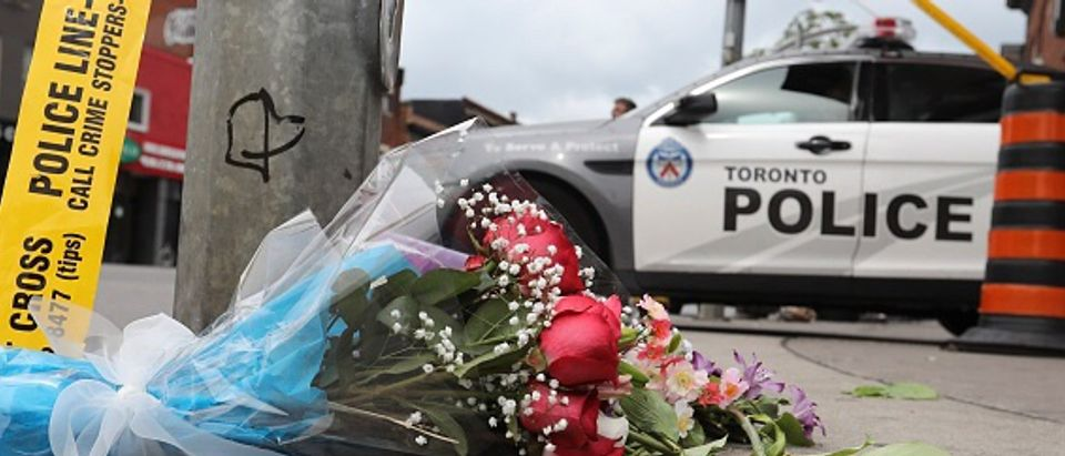 Shooting on the Danforth, the day after