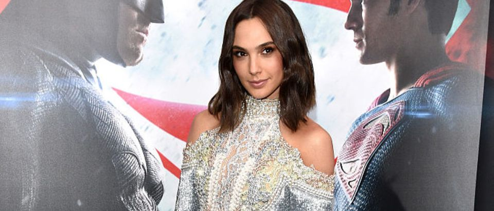 Gal Gadot attends the launch of Bai Superteas at the Batman v Superman premiere on March 20, 2016 in New York City. Photo by Bryan Bedder/Getty Images for Bai Superteas)