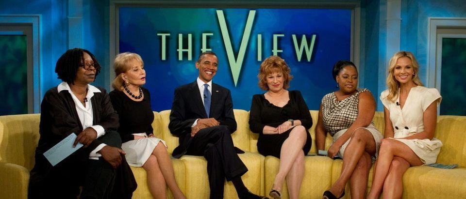 US President Barack Obama appears on the