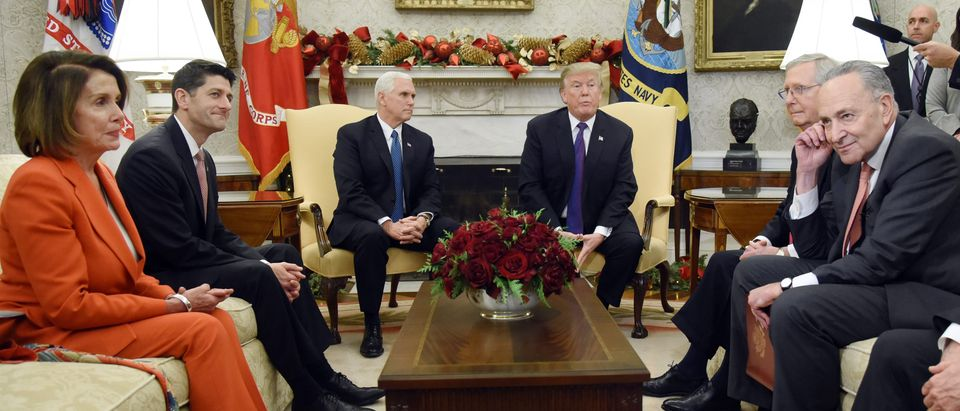 President Donald Trump and Vice President Mike Pence Meet with Congressional Leadership