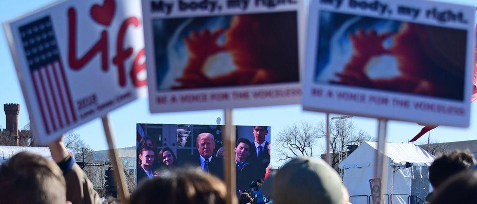 US-POLITICS-ABORTION-DEMONSTRATIONS