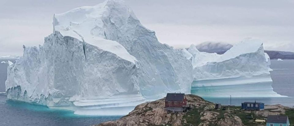 Greenland iceberg AFP/Getty Images/Ritzau Scanpix