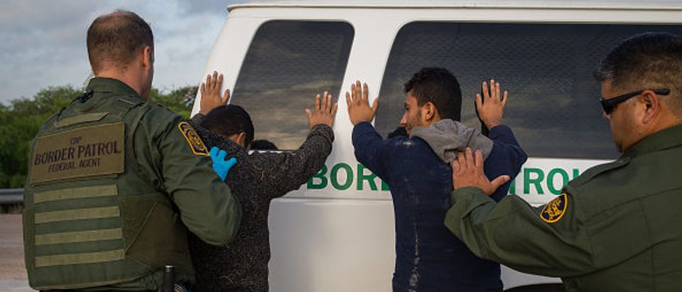 US-MEXICO-BORDER-IMMIGRATION-ARREST