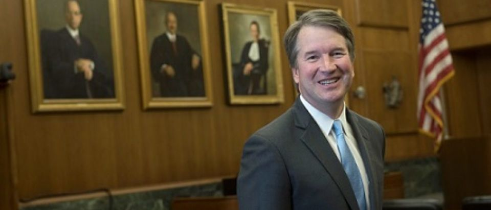 Judge Brett Kavanaugh, President Trump's nominee for the Supreme Court. (Photo credit: U.S. Court of Appeals for the DC Circuit)