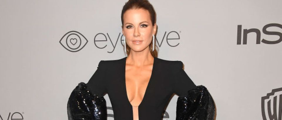Actor Kate Beckinsale attends 19th Annual Post-Golden Globes Party hosted by Warner Bros. Pictures and InStyle at The Beverly Hilton Hotel on January 7, 2018 in Beverly Hills, California. (Photo by Frazer Harrison/Getty Images)