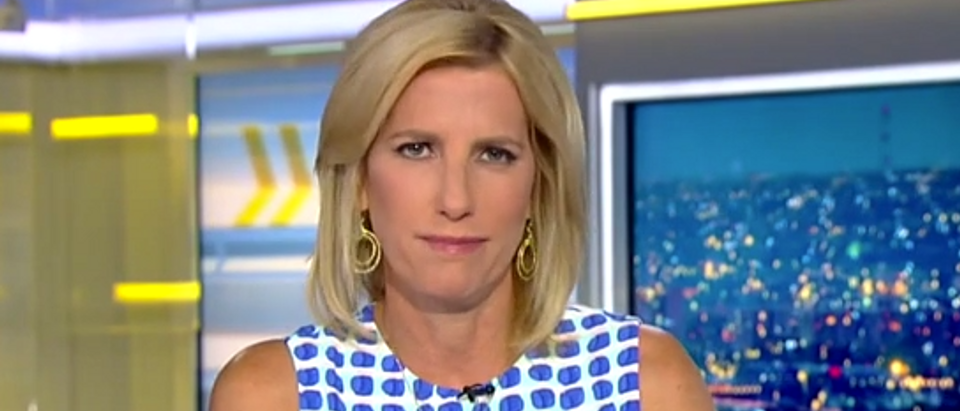 Laura Ingraham discusses media hypocrisy on Michael Cohen coverage (Fox News screengrab)