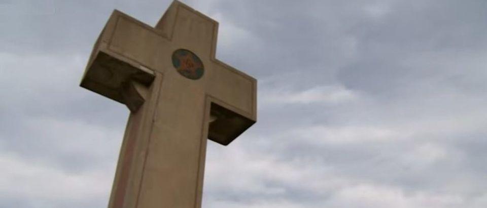 Bladensburg Peace Cross in Bladensburg, Maryland [YouTube/Screenshot]