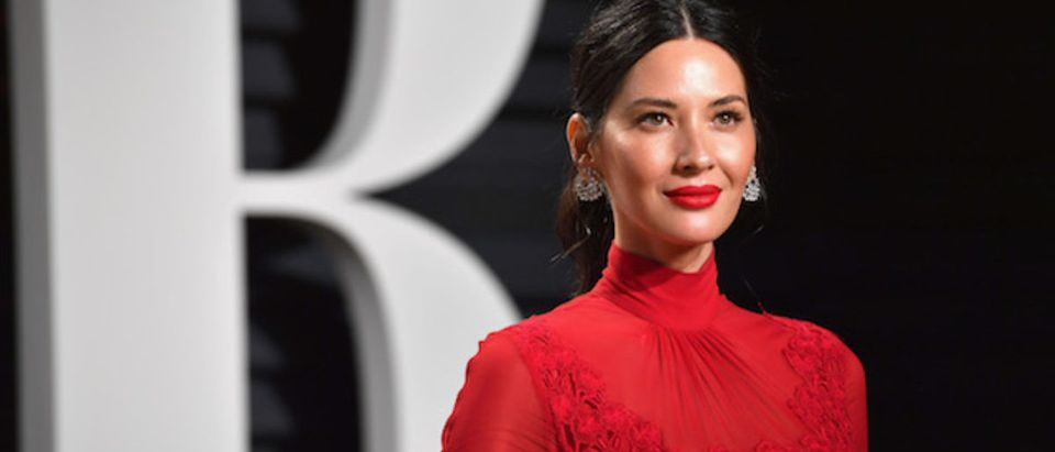 Actor Olivia Munn attends the 2017 Vanity Fair Oscar Party hosted by Graydon Carter at Wallis Annenberg Center for the Performing Arts on February 26, 2017 in Beverly Hills, California. (Photo by Pascal Le Segretain/Getty Images)