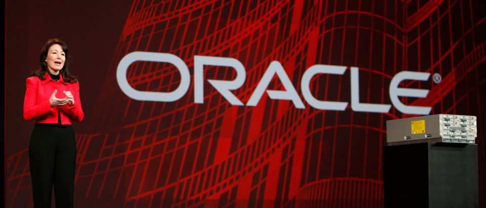 Oracle President Safra Catz introduces C