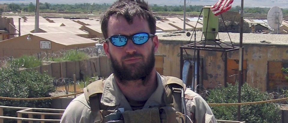 Undated Navy file photo of SEAL Michael Murphy