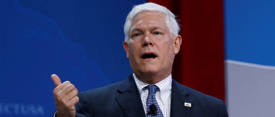 Rep. Pete Sessions speaks at 2017 SelectUSA Investment Summit in Oxon Hill, Maryland, U.S., June 19, 2017. REUTERS/Joshua Roberts
