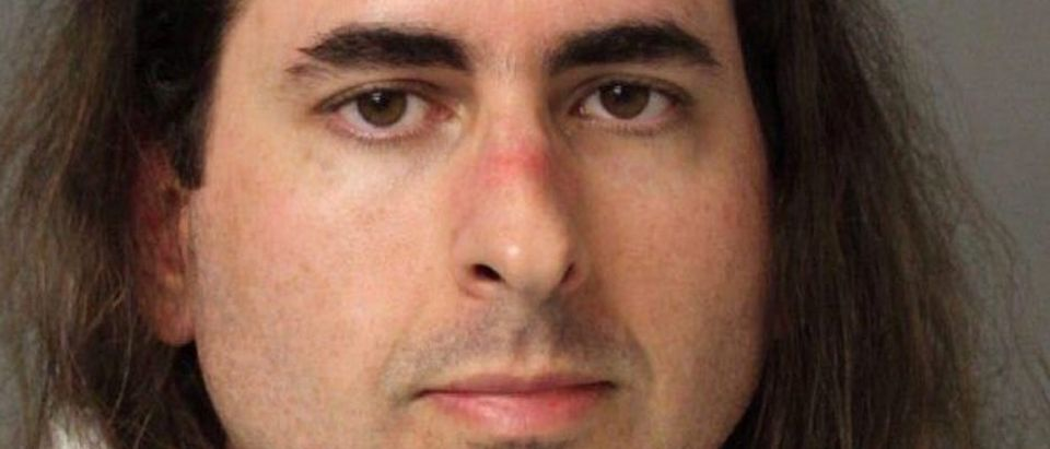 Jarrod Ramos, suspected of killing five people at the offices of the Capital Gazette newspaper office in Annapolis, Maryland, U.S., June 28, 2018 is seen in this Anne Arundel Police Department booking photo provided June 29, 2018. Anne Arundel Police/Handout via REUTERS