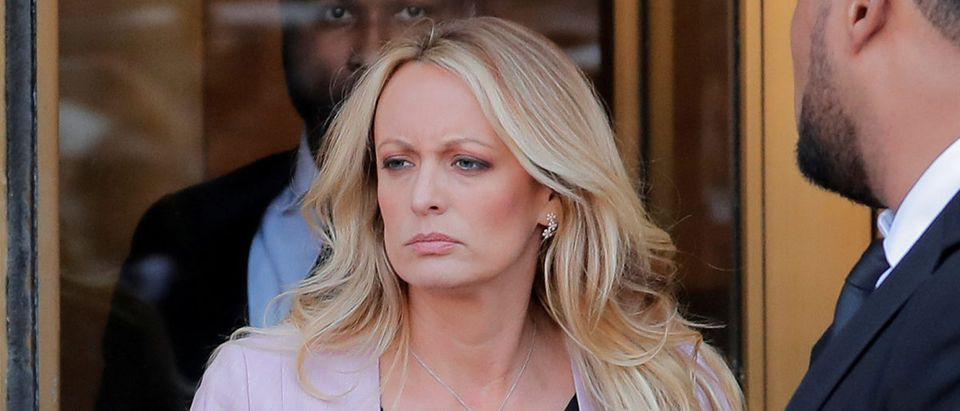 FILE PHOTO: Stormy Daniels departs federal court in New York City