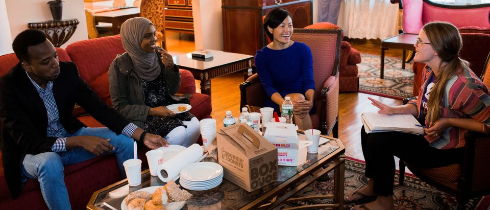 Aid agency Oxfam, invites refugees to spend the weekend at U.S. President Donald Trump's childhood home in Queens
