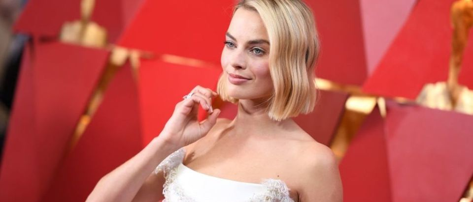 Australian actress Margot Robbie arrives for the 90th Annual Academy Awards on March 4, 2018, in Hollywood, California. (Photo credit: ANGELA WEISS/AFP/Getty Images)