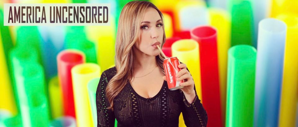 The Daily Caller's Stephanie Hamill on the push to eliminate straws. (Photo: The Daily Caller)