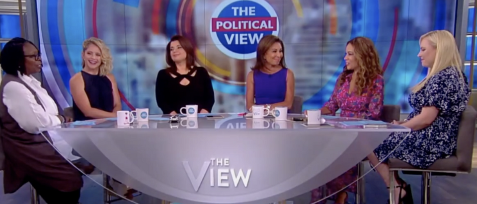 Judge Jeanine on the view (The View 7/19/2018)